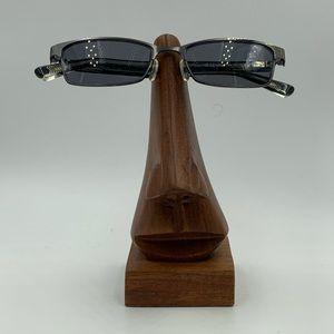 Vintage Nike 8000 Gray Oval Sunglasses Frames